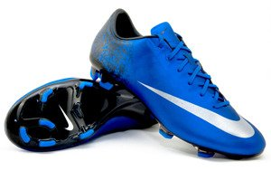 Buty Nike MERCURIAL VELOCE FG - CR7 - BLUE DIAMOND