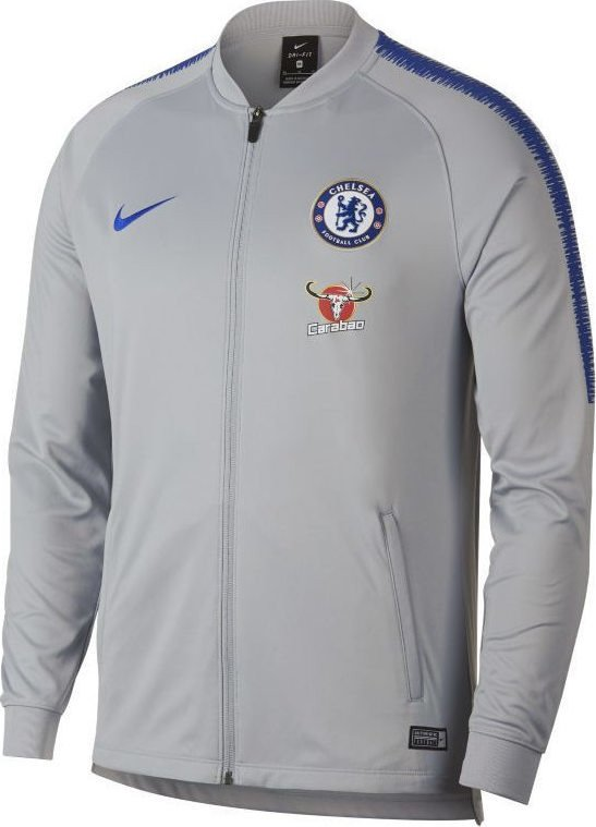 Bluza treningowa Nike Chelsea Londyn Dry Squad 919965 015 szaro niebieska