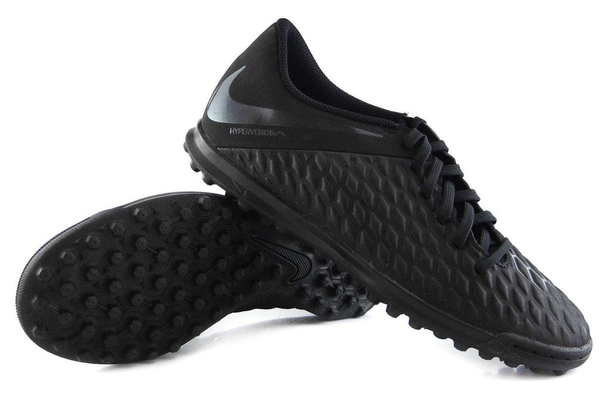 a1ee7e1a ... Czarne buty piłkarskie na orlik Nike Hypervenom Club TF AJ3790-001 JR  ...