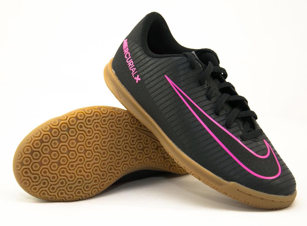popularna marka autentyczna jakość jak kupić Buty Nike Mercurial Vortex III IC JR 831953-006- Halówki