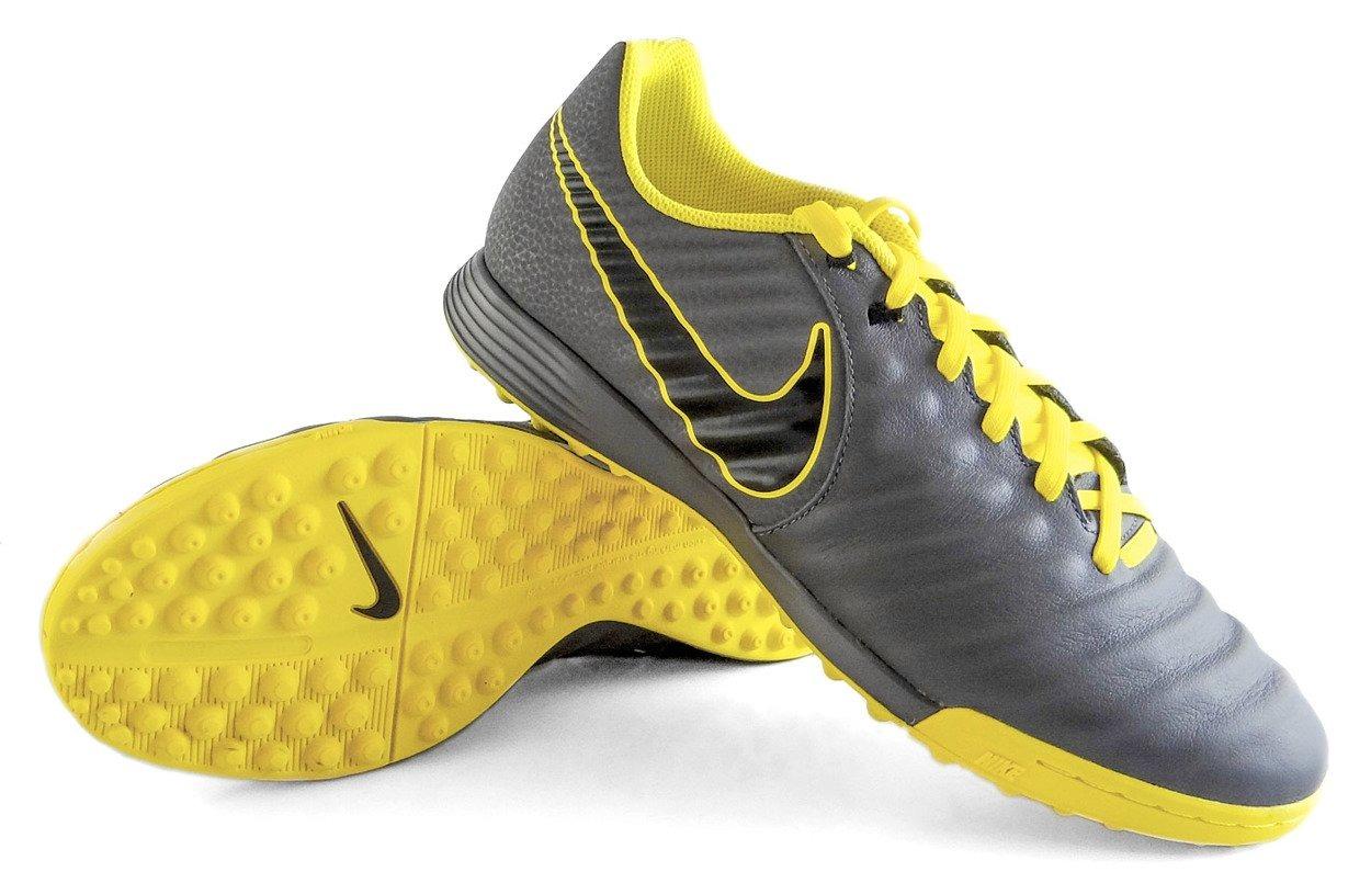 huge selection of 0aa04 19507 Szaro-żółte buty piłkarskie na orlik Nike TiempoX Legend Academy TF  AH7243-070