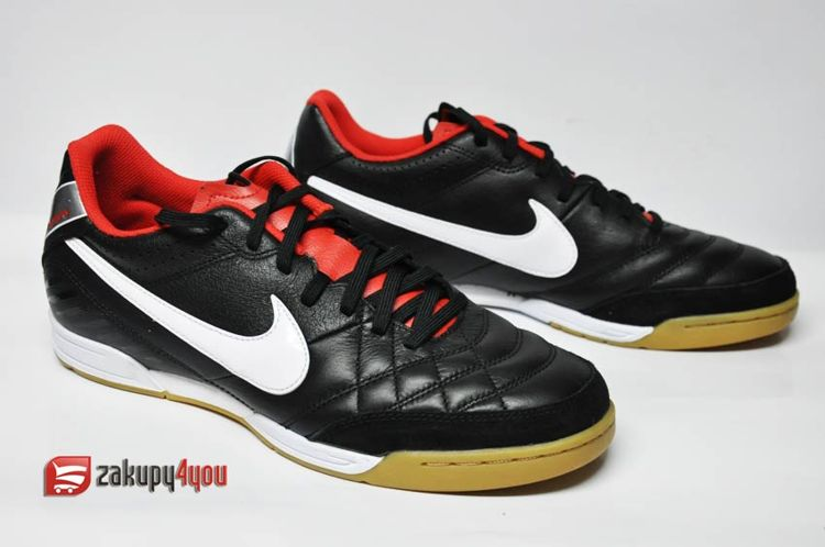 01147cb51 ... Buty na halę Nike Tiempo Natural IV LTR IC ...