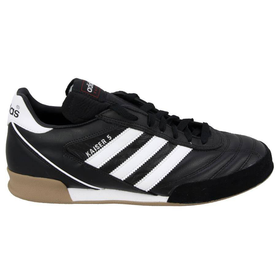 Czarne buty piłkarskie na halę Adidas Kaiser 5 Goal 677358