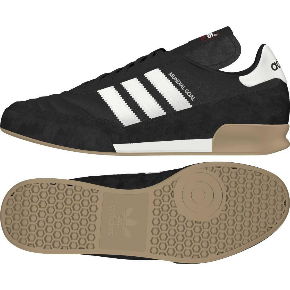 Czarne buty piłkarskie na halę Adidas Mundial Goal 019310