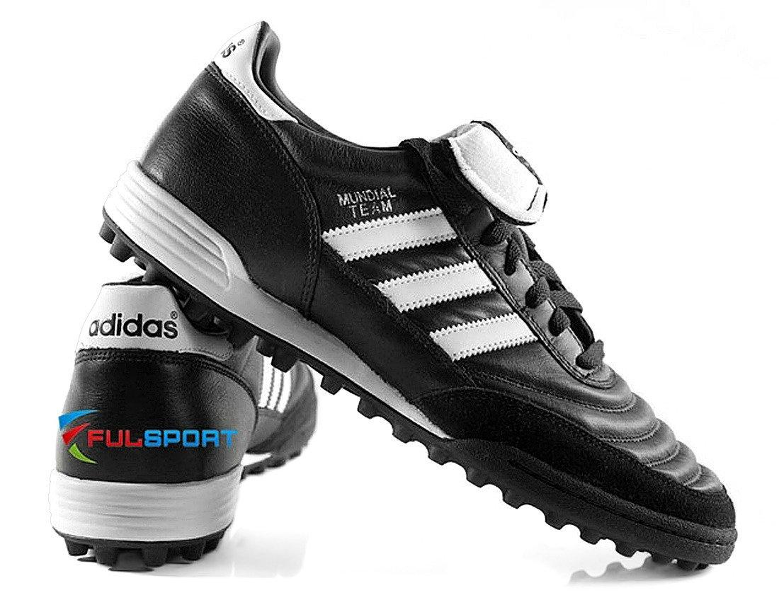 Czarne buty piłkarskie na orlik Adidas Mundial Team 019228