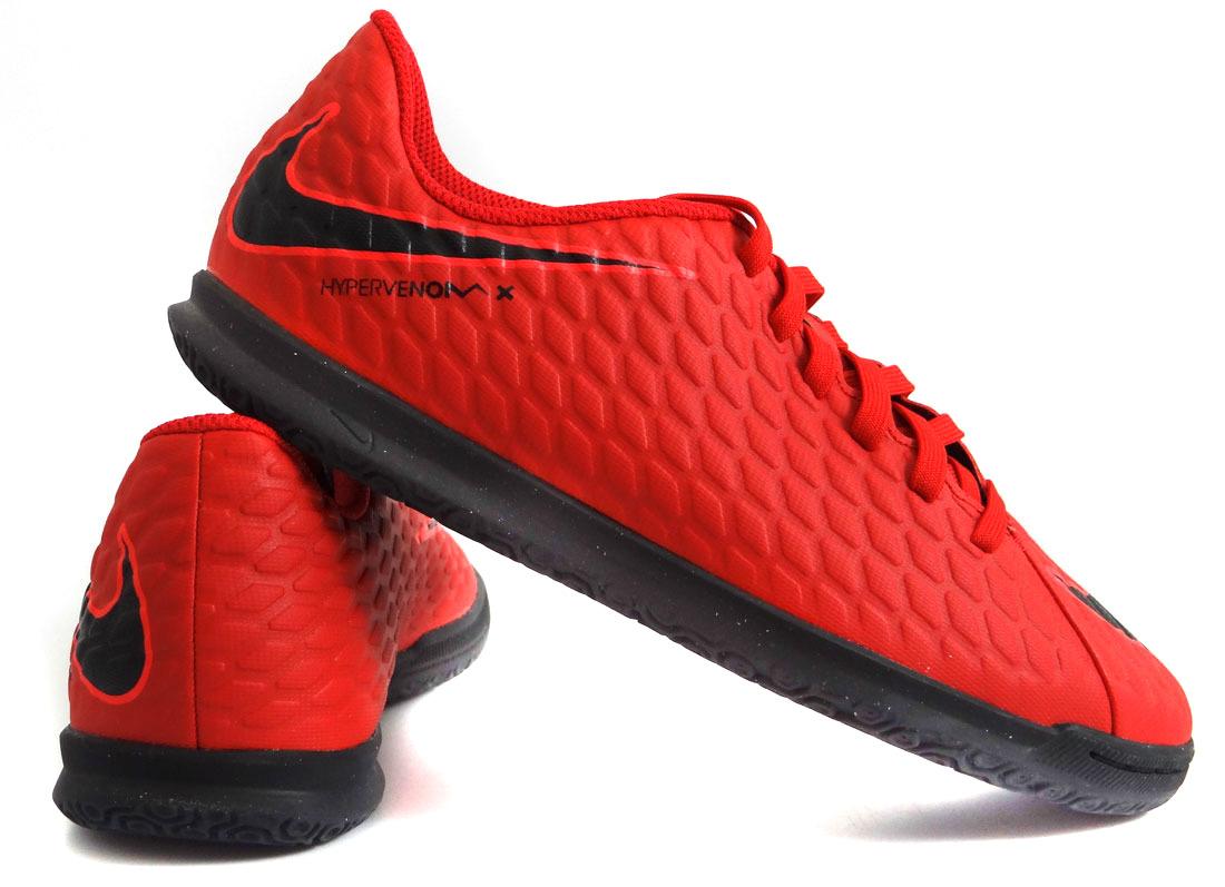 238436da ... Czerwone buty piłkarskie na halę Nike Hypervenom Phade IC 852583-616 JR  ...