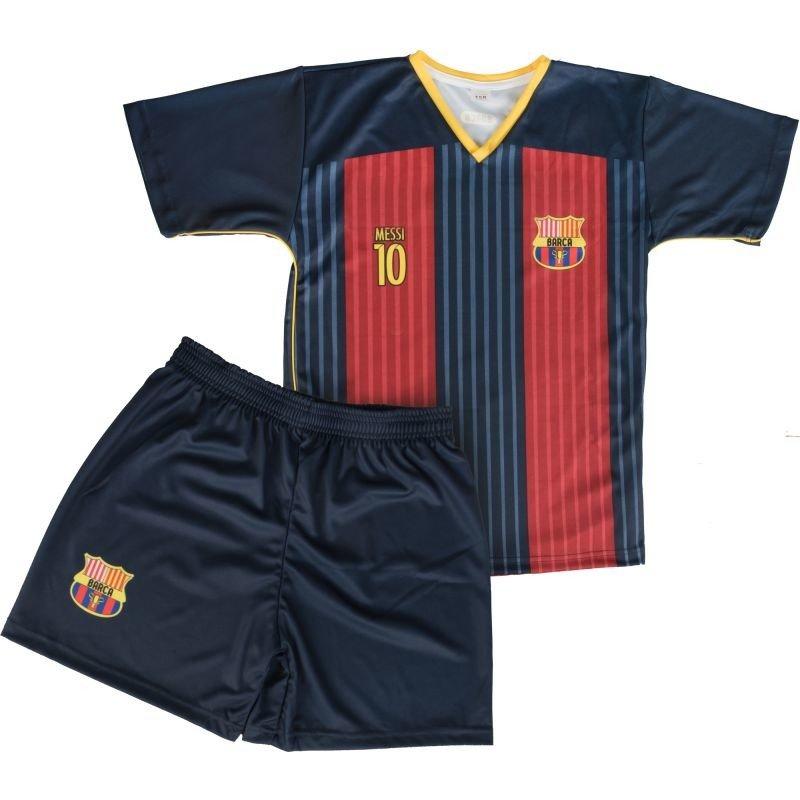 ab62e214536020 Komplet piłkarski Reda Barcelona Messi 10 junior granatowo-czerwony ...