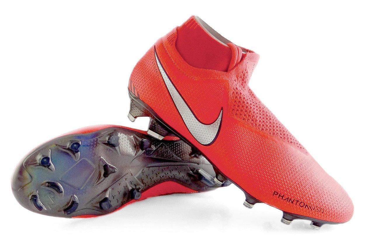 wyprzedaż ze zniżką Cena hurtowa najlepsze trampki Czerwone buty piłkarskie Korki lanki Nike Phantom VSN Elite DF FG  AO3262-600 - profes.