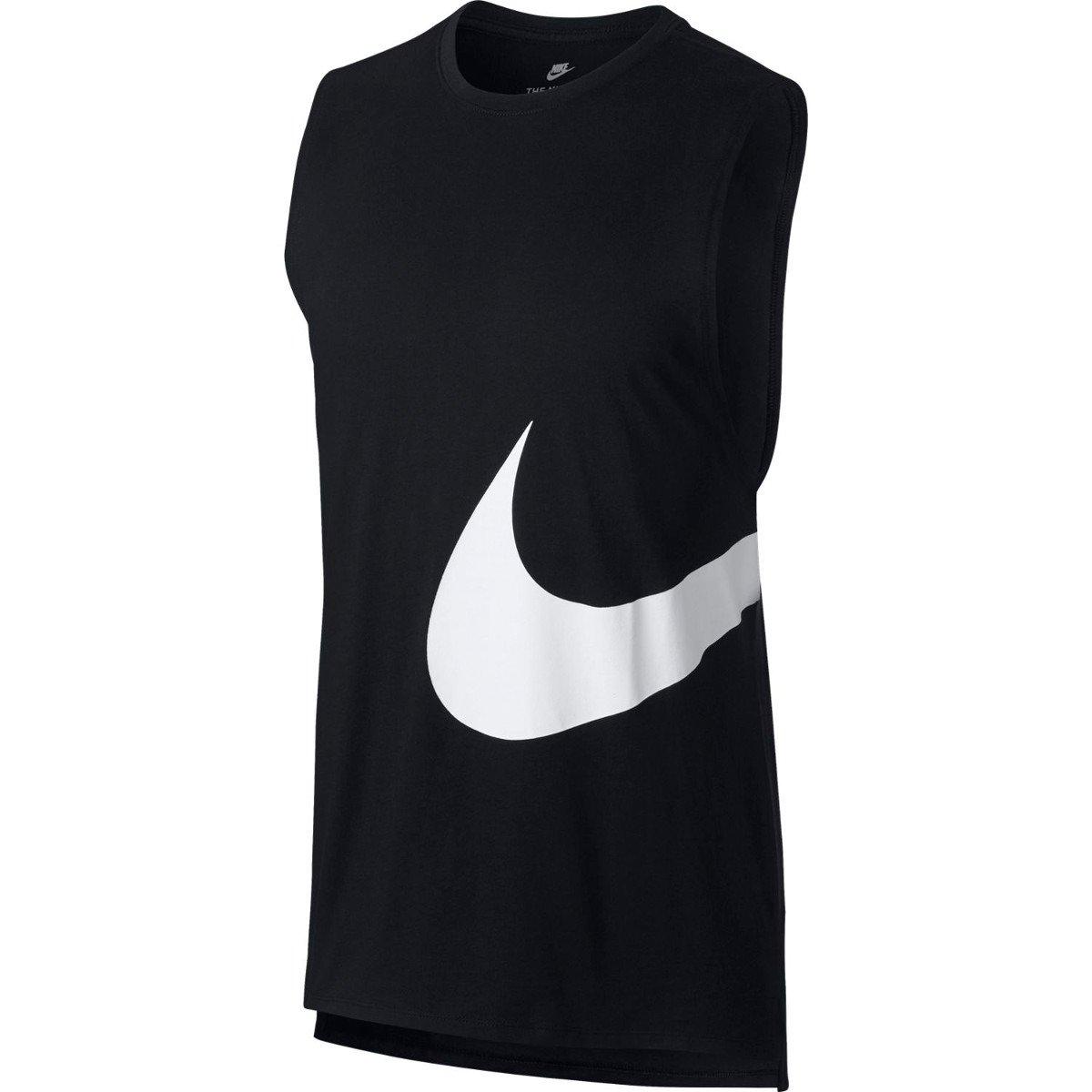 3a4d195e295898 Koszulka męska Nike Hybrid Swoosh 847681-010 czarna | Sklep ...