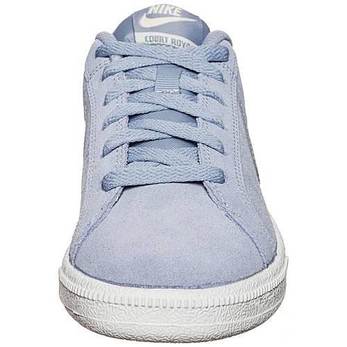 Niebieskie buty sportowe damskie Nike Court Royale 916795 002
