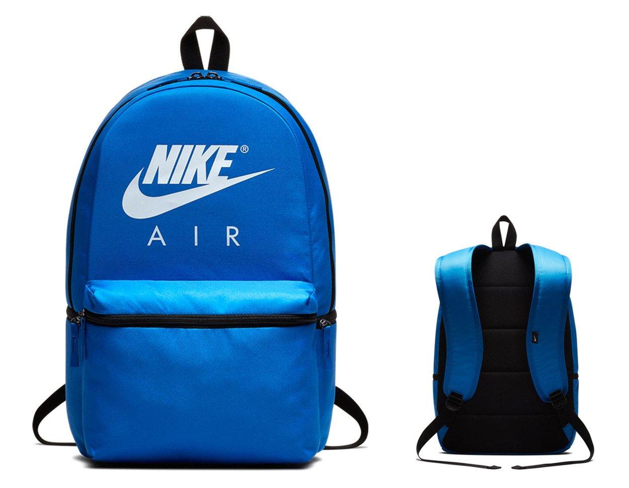 929ef860a1755 ... Niebieski plecak szkolny Nike Air Backpack BA5777-403 ...