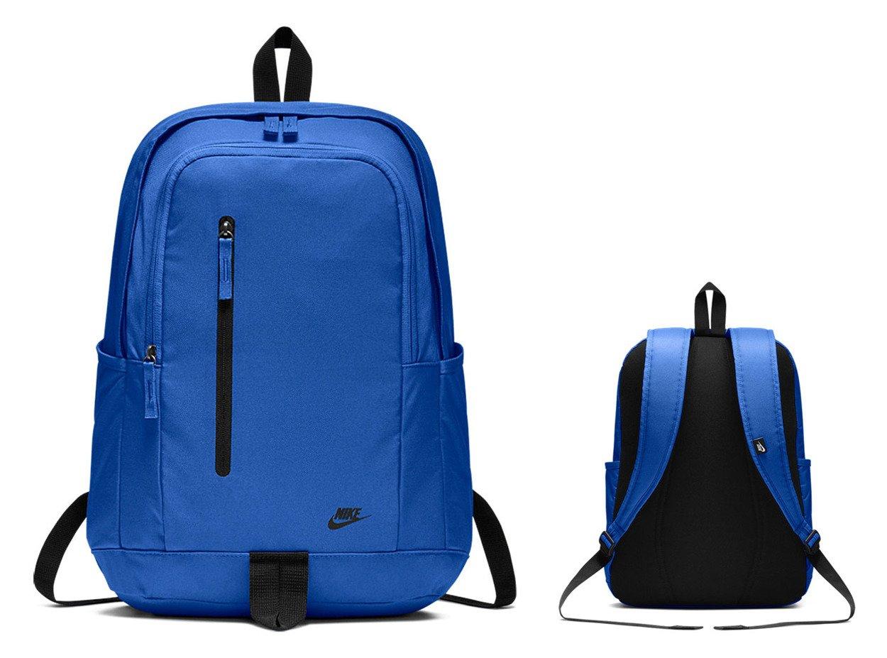 419e77feec853 ... Niebieski plecak szkolny Nike All Access Soleday Backpack BA5532-403 ...