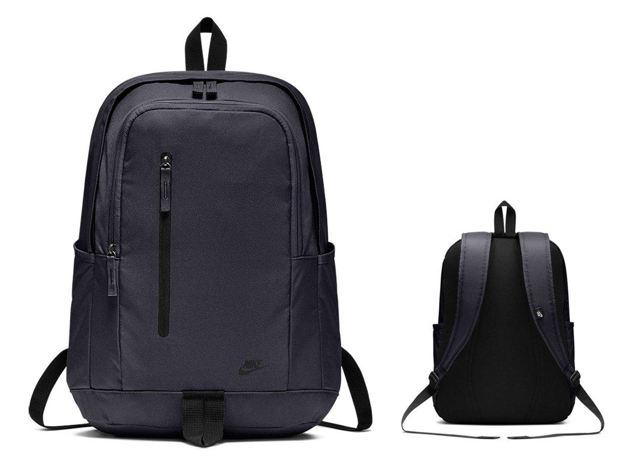 faf92bd282f4d ... Granatowy plecak szkolny Nike All Access Soleday Backpack BA5532-451 ...