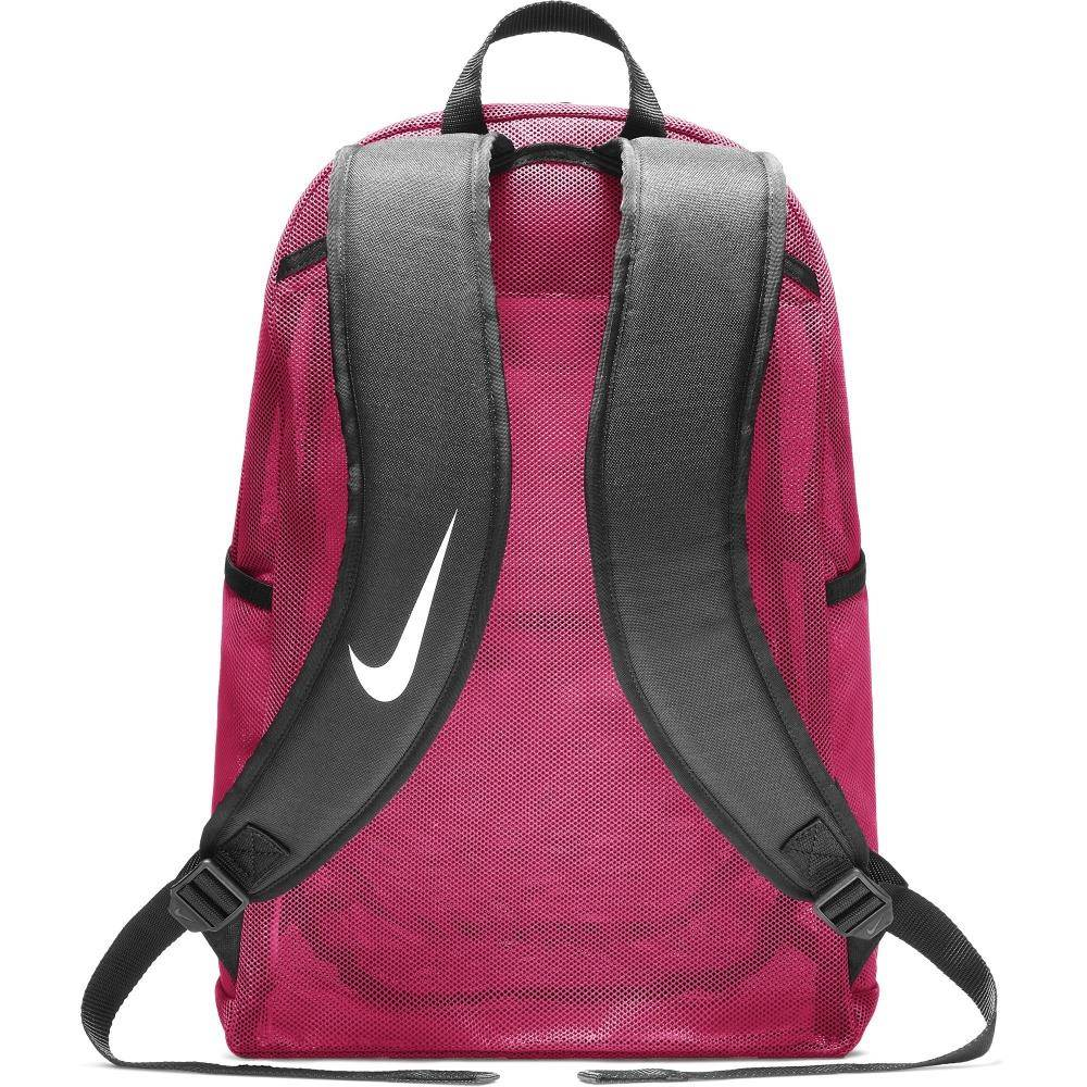 ac46a1fa51df1 ... Różowy plecak szkolny Nike Brasilia Mesh Training BA5388-666 ...