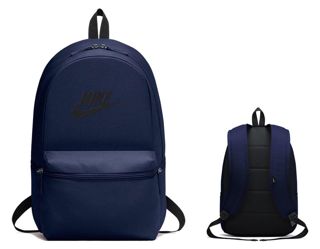 1ac25bbc50116 ... Granatowy plecak szkolny Nike Heritage Backpack BA5749-451 ...