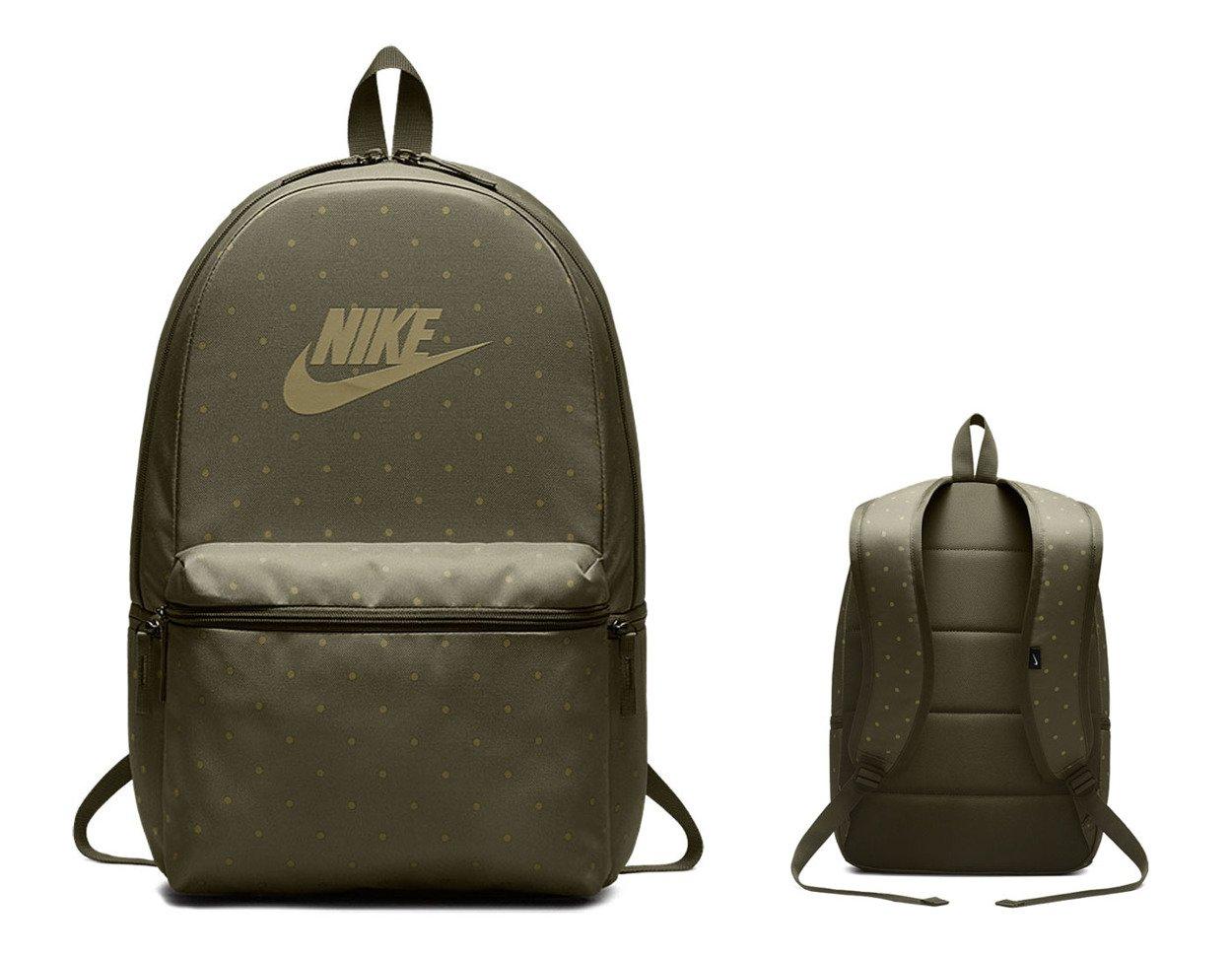8481f76d5d88f Zielony plecak szkolny Nike Hertiage Backpack BA5761-222 ...