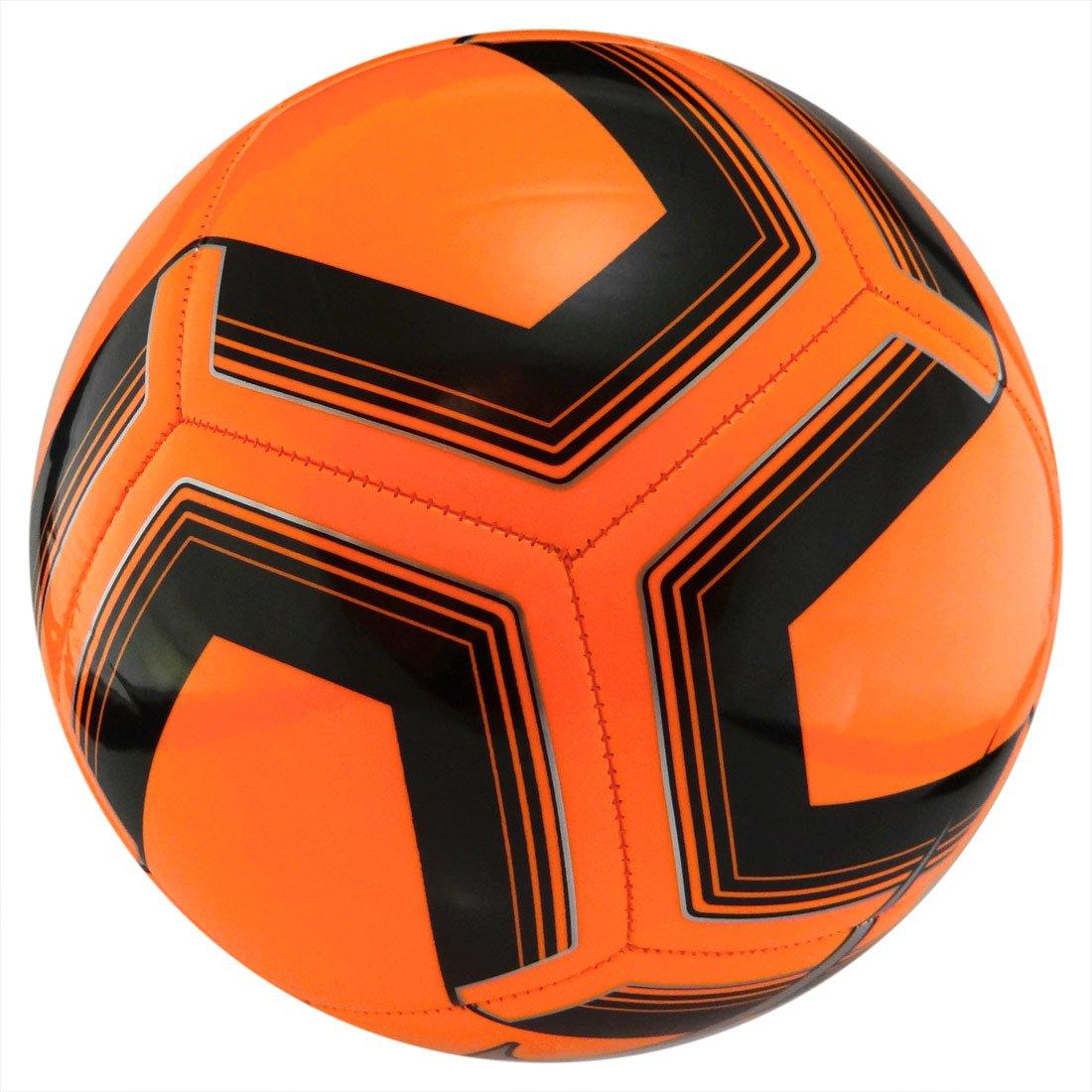 Pomarańczowo czarna piłka nożna Nike Pitch Team SC3893 803 r4