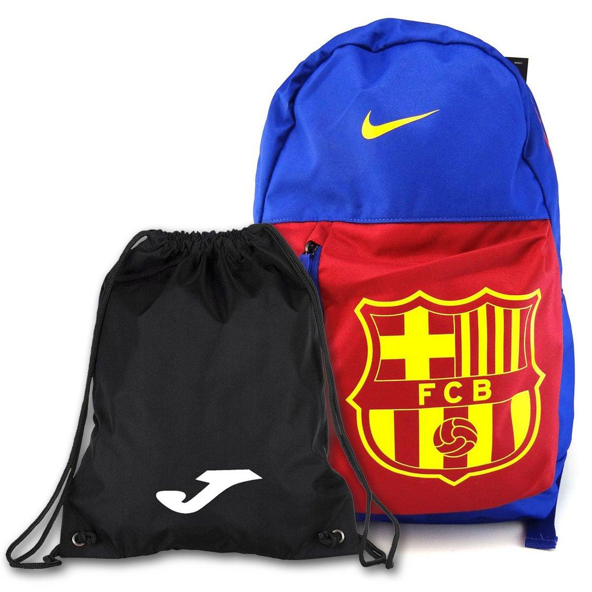 b4b11a206 ... Niebieski plecak szkolny Nike Barcelona Stadium BA5524-455 + Worek na  buty JOMA ...