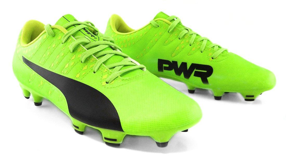 Zielone buty pi?karskie Puma evoPower Vigor 4 FG Ultra