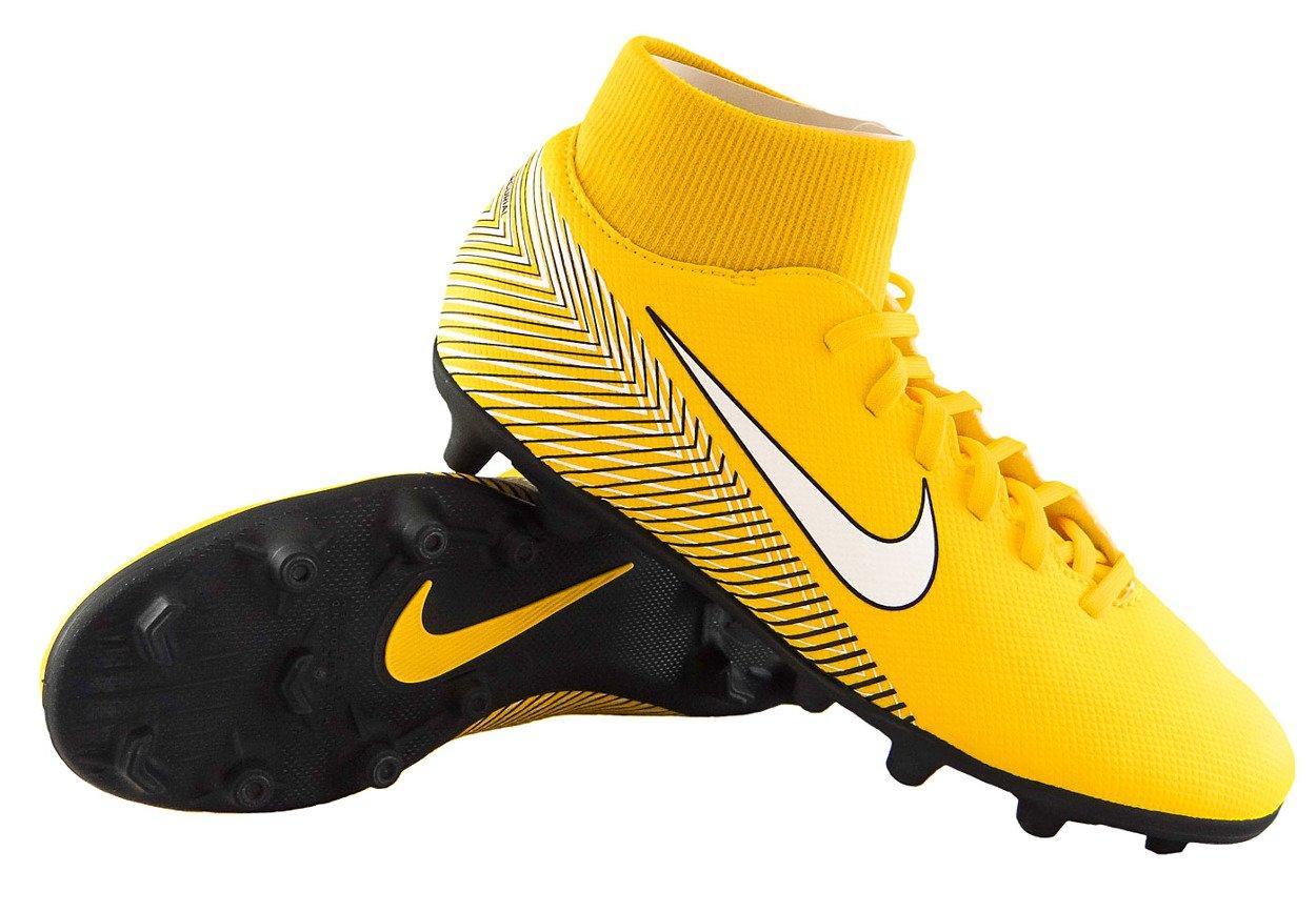 the latest 4a0f1 5436d Żółto-czarne buty piłkarskie Nike Mercurial Superfly Club Neymar MG  AO9467-710