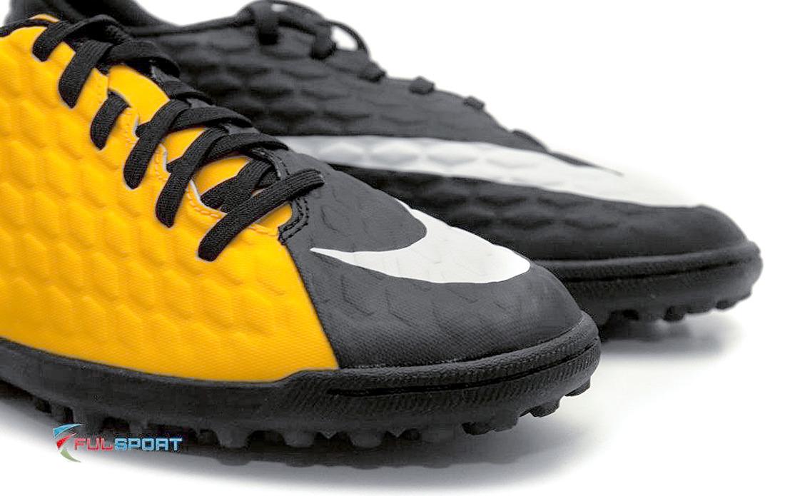 more photos 55ad8 d0bba Żółto-czarne buty piłkarskie na orlik Nike Hypervenom Phade TF 852585-801 JR