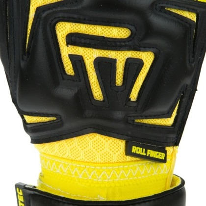 Rękawice bramkarskie Masters Clima Black Yellow Contact RF