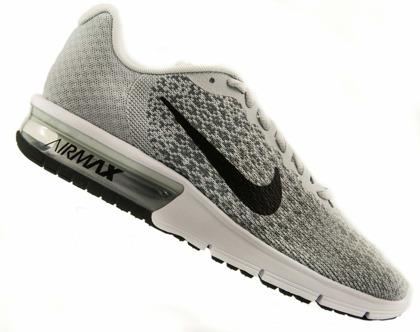 Szare buty sportowe Nike Air Max Sequent 852465-001